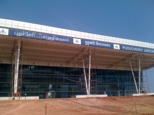 pondy airport2