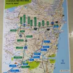 Chennai Metro rail Map